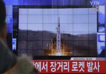 СМИ: КНДР осуществила запуск двух неопознанных ракет