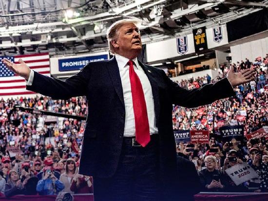 Трамп заявил, что обогнал Элтона Джона по числу зрителей Нью-Гэмпшира