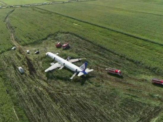 Дети из Тамбова пострадали во время жесткой посадки самолета в Подмосковье