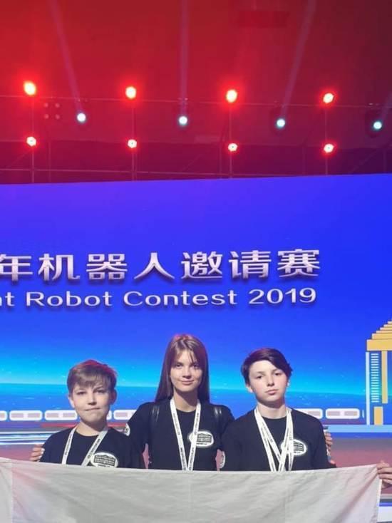 Новосибирские школьники выиграли Всемирные соревнования робототехников