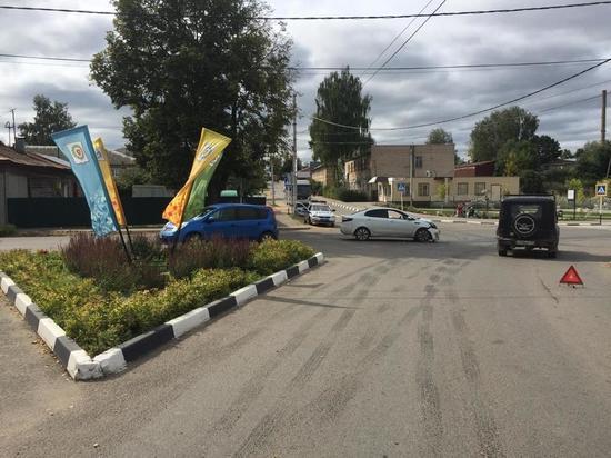 Массовая авария произошла в Боровском районе
