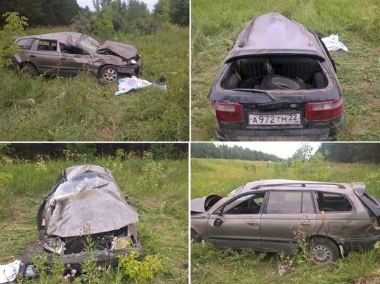 ДТП Новосибирской области: водитель погиб, пассажир в больнице