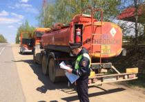 Сотрудники Госавтоинспекции держат под особым контролем перевозку опасных грузов