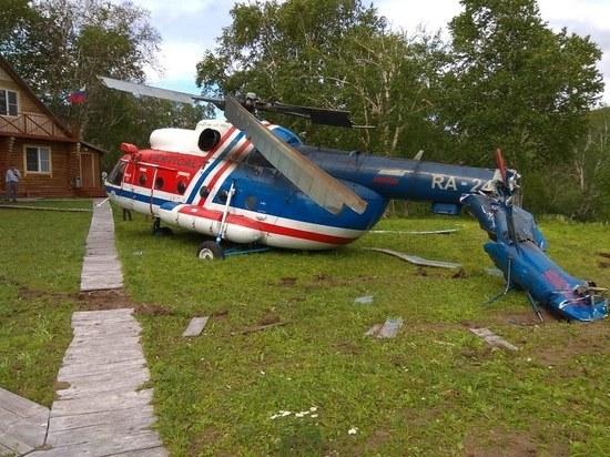 Стали известны подробности падения тверского вертолета на Камчатке