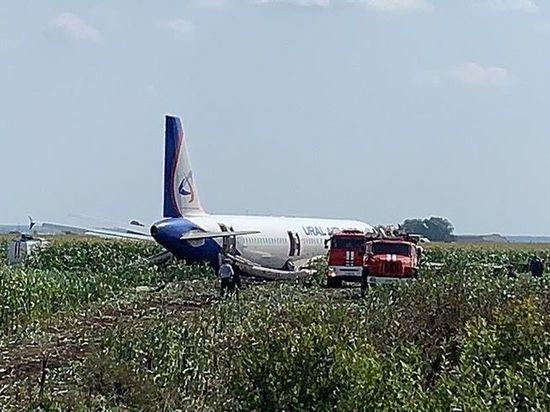Большинство пассажиров севшего в поле самолета отказались от полета в Крым