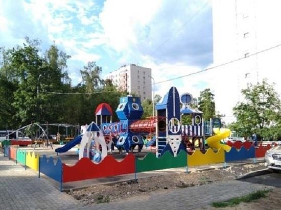 Детский городок производства ИК-7 УФСИН России по Тверской области установлен в Москве