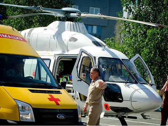 В Челябинской области открылась третья вертолетная площадка для санавиации