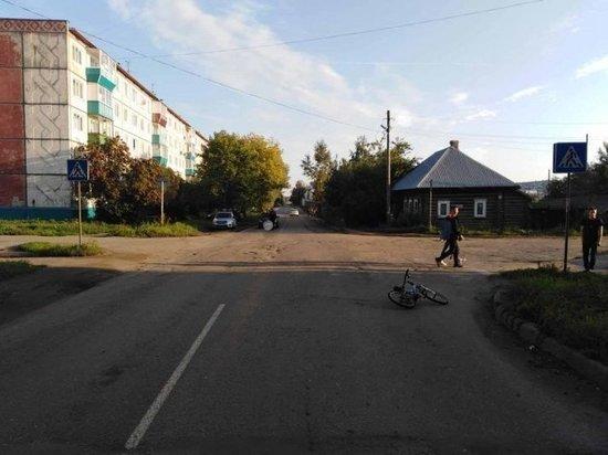 В Сарапуле 8-летнего велосипедиста сбили на пешеходном переходе