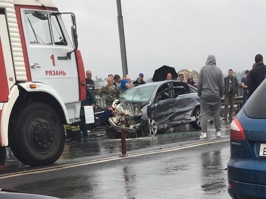 Среди пострадавших в ДТП на Солотчинском мосту двое несовершеннолетних