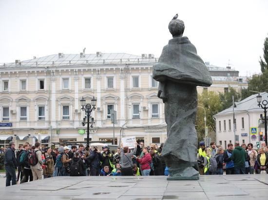 Московский протестный субботник полиция отметила вежливостью