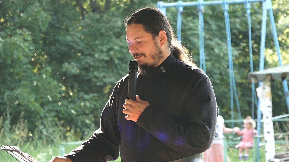 Иеромонах Фотий посетил фестиваль «Голоса Святогорья» под Рязанью