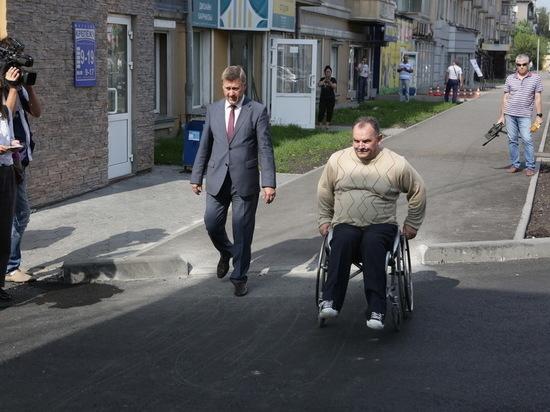 Мэр Новосибирска требует снова переделать ремонт улицы Большевистской