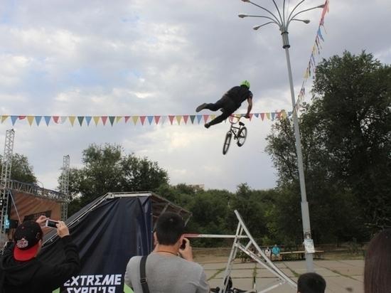 В калмыцкой столице прошел фестиваль спорта и уличных субкультур