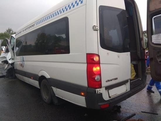В ДТП с микроавтобусом под Тулой пострадал ребенок