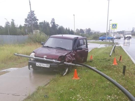 Подросток без прав попал в ДТП в Губкинском