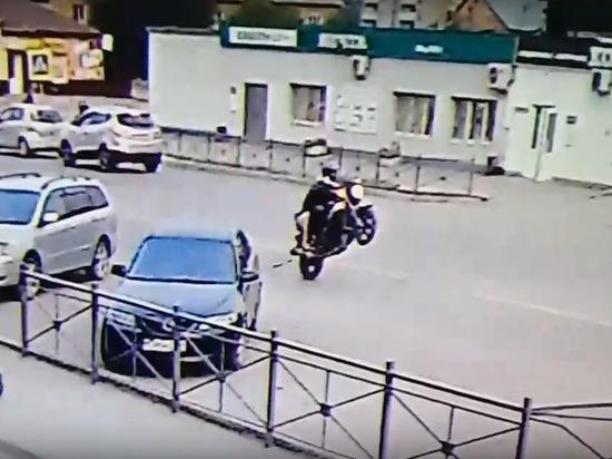 В Назарове подросток на мотоцикле насмерть сбил девочку и сбежал