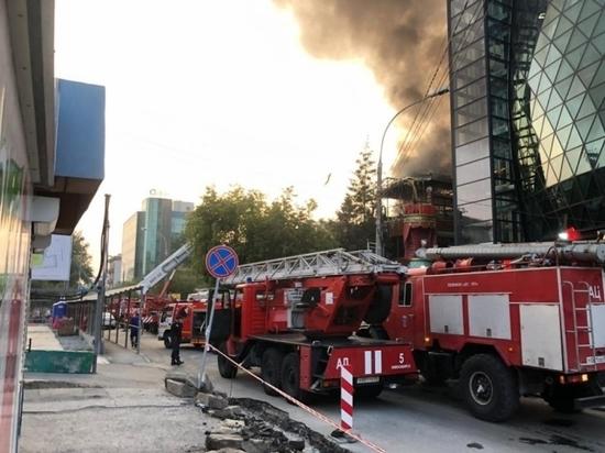 В Новосибирске сгорел знаменитый ресторан PuppenHaus