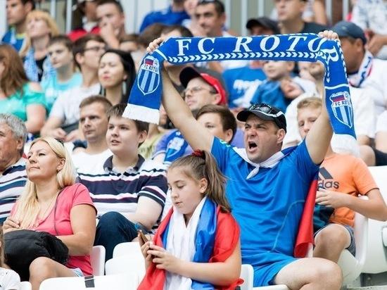 Матч «Ротор – Шинник» побил рекорд посещаемости за всю историю ФНЛ