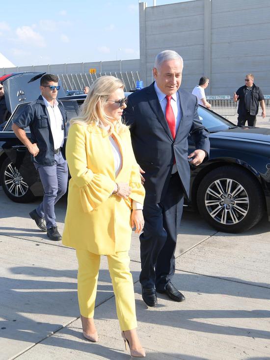 Премьер-министр перед вылетом в Кыив пообещал неприятности врагам Израиля