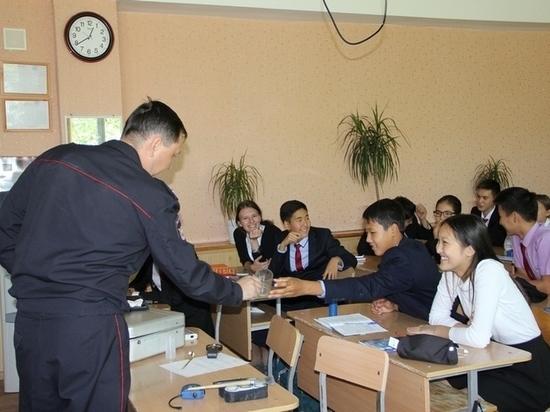 В калмыцкой гимназии открывается полицейский класс