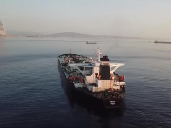 Иранский танкер Grace1 покинул Гибралтар