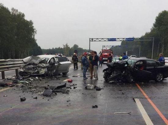 В аварии погиб замглавы Мичуринского района