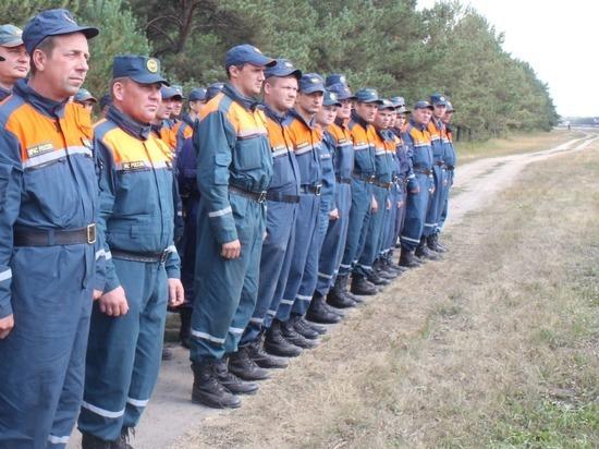 Алтайские спасатели вернулись из Красноярского края после тушения пожаров