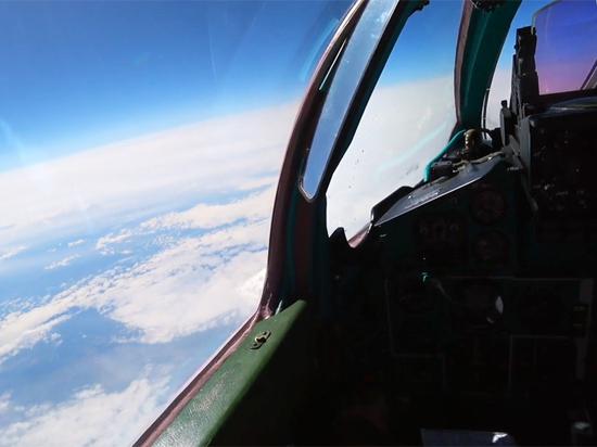 Появилось видео полета МиГ-31 в стратосфере
