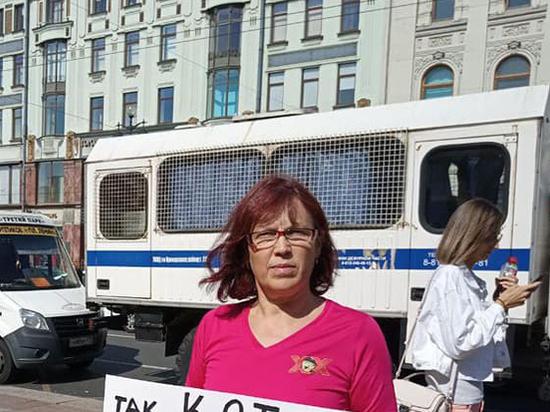 В Петербурге впервые возбудили дело за неуважение к власти