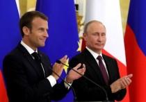 Путин прибыл в Марсель к Макрону