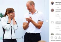 Принц Уильям публично унизил Кейт Миддлтон
