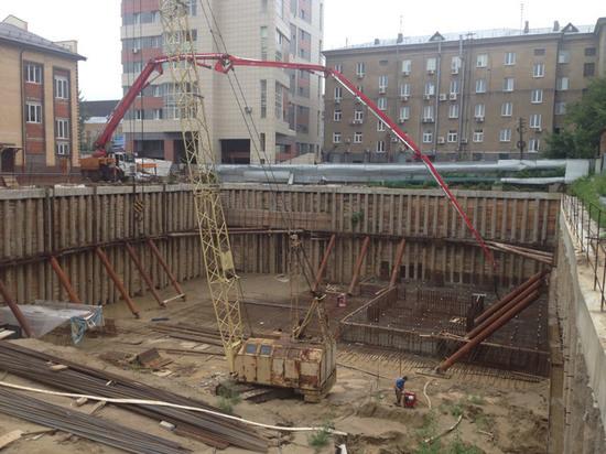 В Новосибирске зароют котлован так и не построенного небоскреба