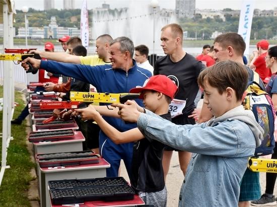 В Чебоксарах прошел Всемирный городской тур по лазер-рану