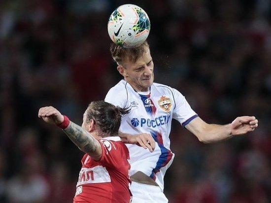 Московский «Спартак» обыграл ЦСКА благодаря дублю Жиго