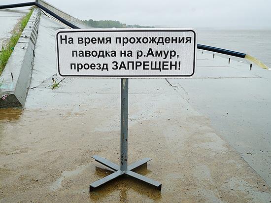 Уровень Амура у Хабаровска может достичь опасных значений в ближайшие часы