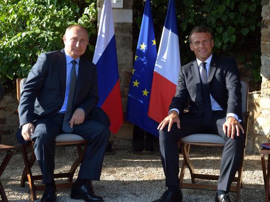 Макрон: я уверен в европейском будущем России