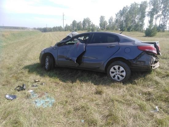 На трассе «Казань-Оренбург» машина вылетела в кювет