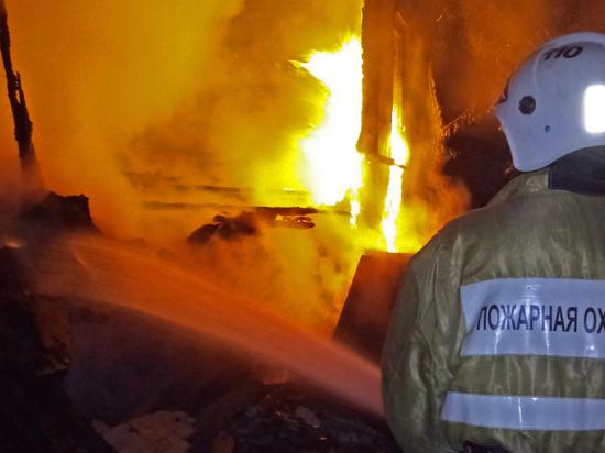 В Крыму мужчина сгорел заживо в собственном доме