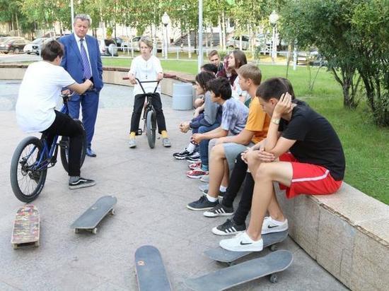 В Нижневартовске построят новый скейт-парк по просьбе подростков