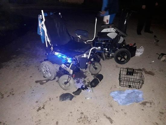 Под Тулой водитель сбил паралимпийцев в колясках и скрылся