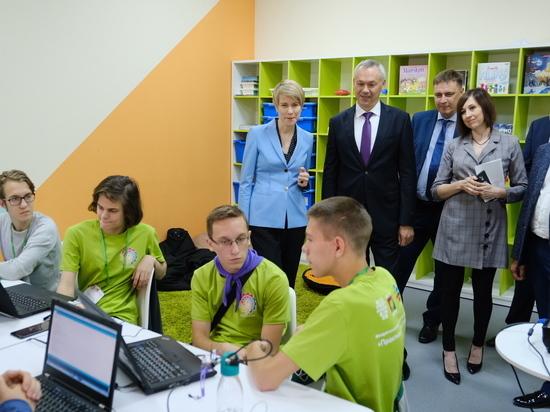 Андрей Травников выступил за системную работу с одаренными детьми