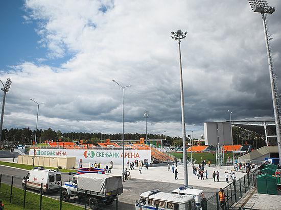 Возле стадиона «Уралмаш» появятся два поля и четырехэтажное здание