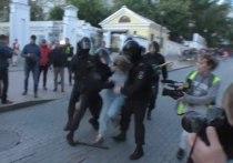 Путину доложили о девушке, которую ударил в живот полицейский
