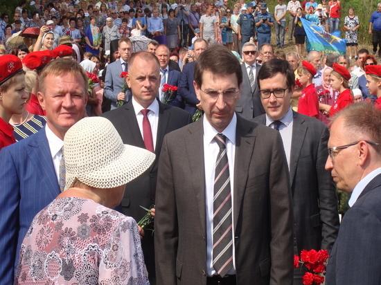 Курскую область посетил полпред Президента России в ЦФО