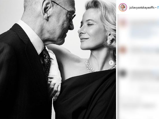 Юлия Высоцкая показала романтичные фото с мужем в день его 82-летия