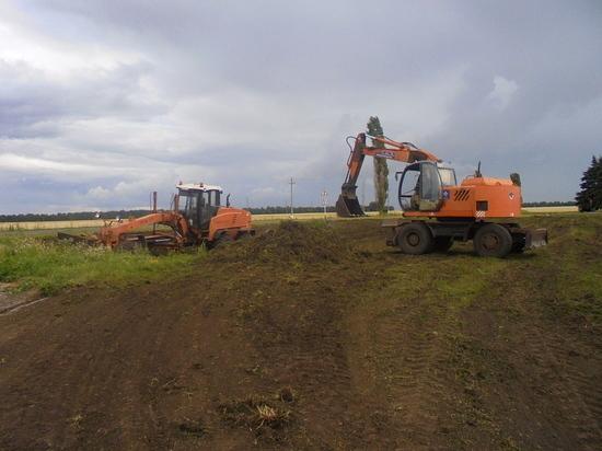 На северном фасе Курской дуги возводят мемориал пограничникам