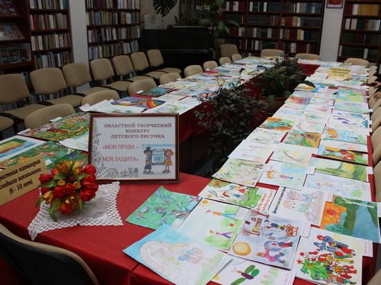 Более 200 детей-инвалидов приняли участие в областном конкурсе рисунков