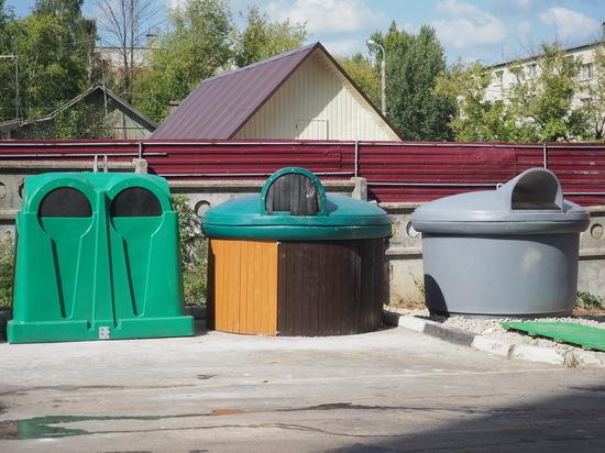 В Калуге тестируют контейнеры для ТКО