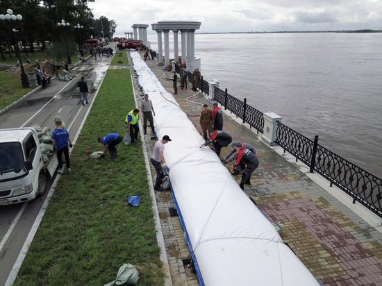 Пятую волну паводка ждут у Хабаровска