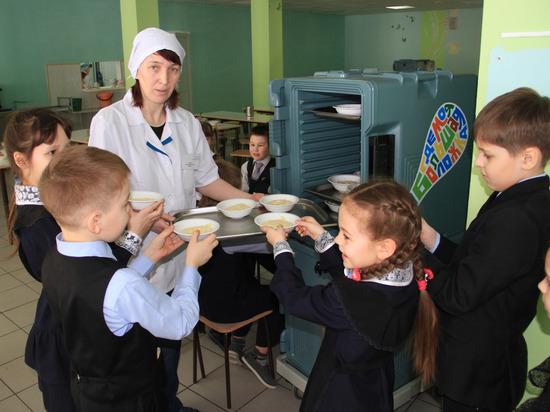 Школьникам Башкирии предложат единое меню